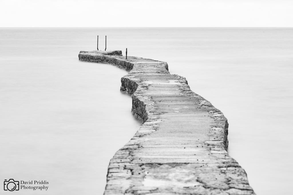L'Etacq Pier, St. Ouen, Jersey, Channel Islands.